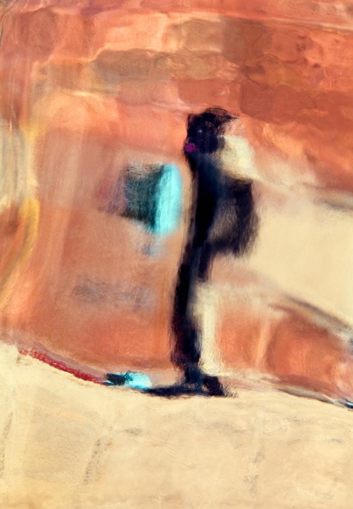 """Roberta at Aquinnah     2017, 34"""" X 23"""", Pigment Print"""