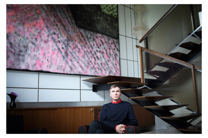 Photo for the Danny Sangra  interview with Raf Simons