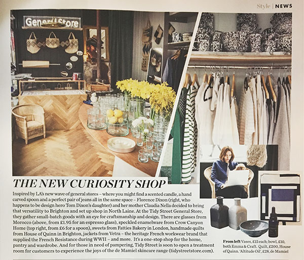 House of Quinn in Elle Decoration 2017