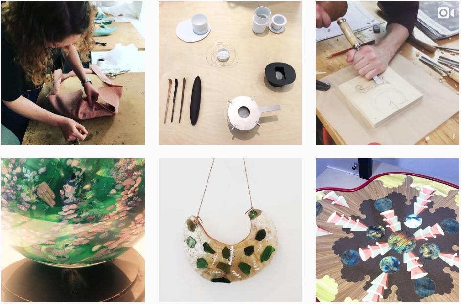 London Craft week Instagram