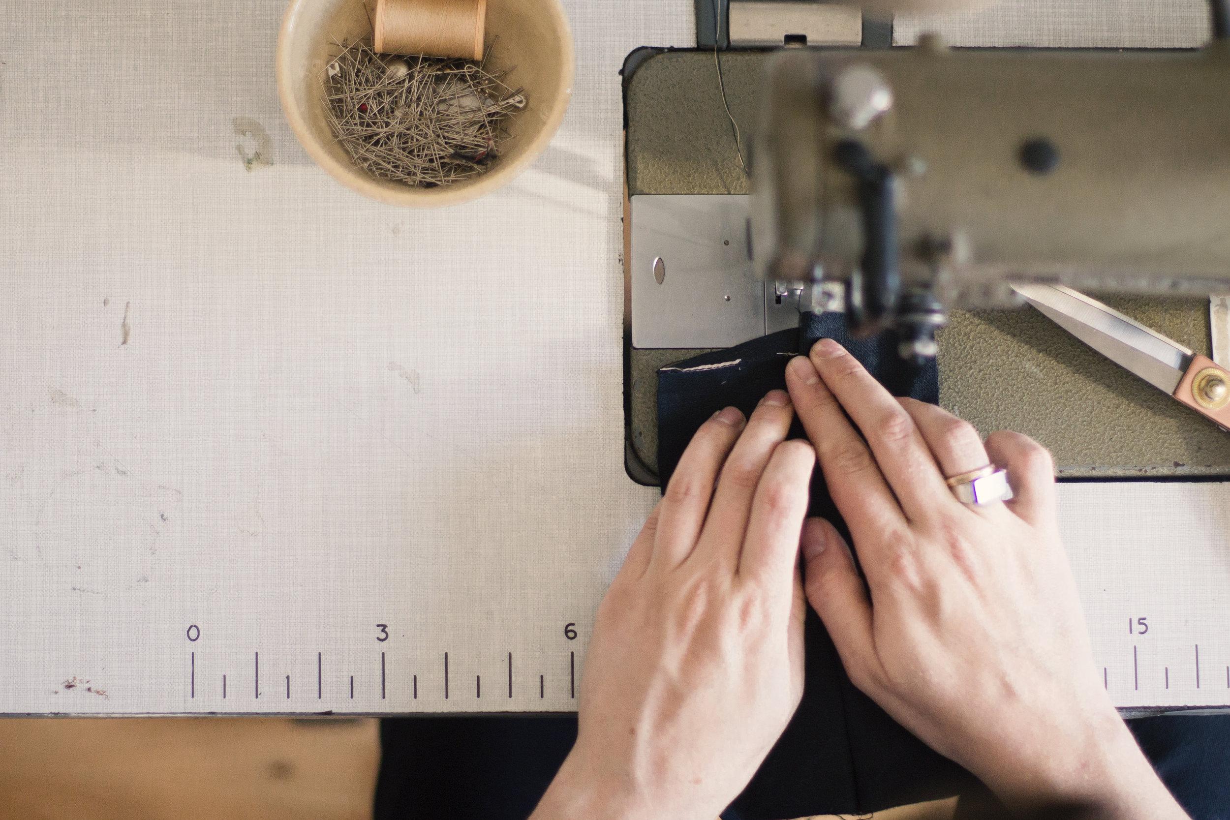 House of Quinn Studio sewing machine