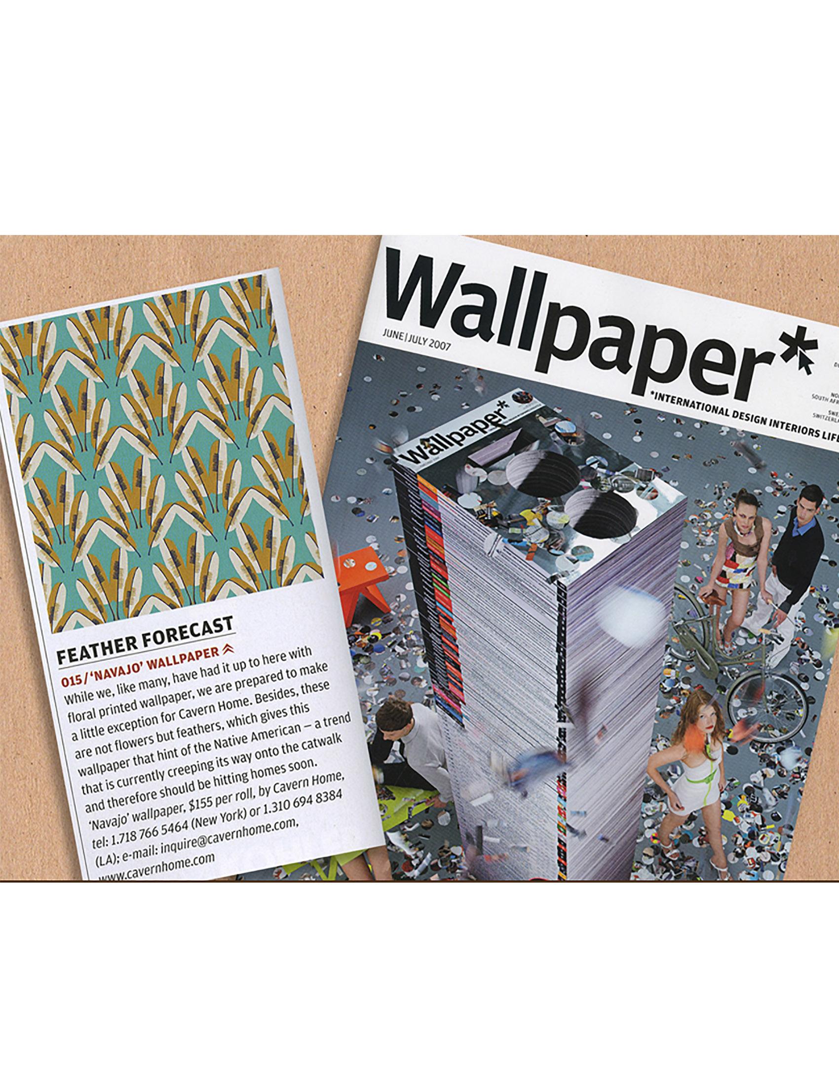 Wallpaper Magazine June/July 2007