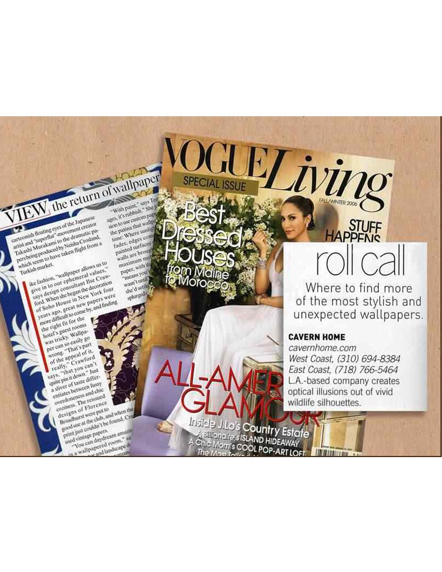 Vogue Living Fall/Winter 2006