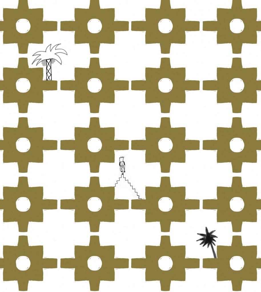 Casa de Milagros Wallpaper Design