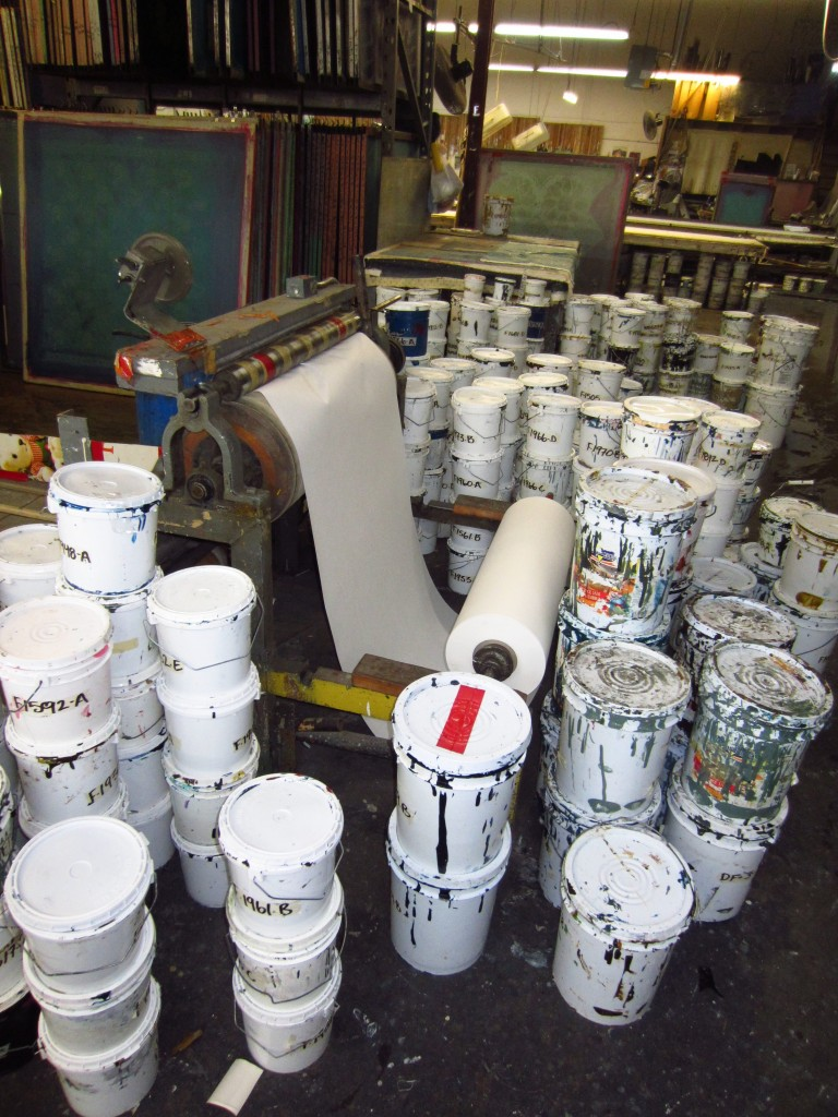 3. Paint palace- where paints are mixed and made.