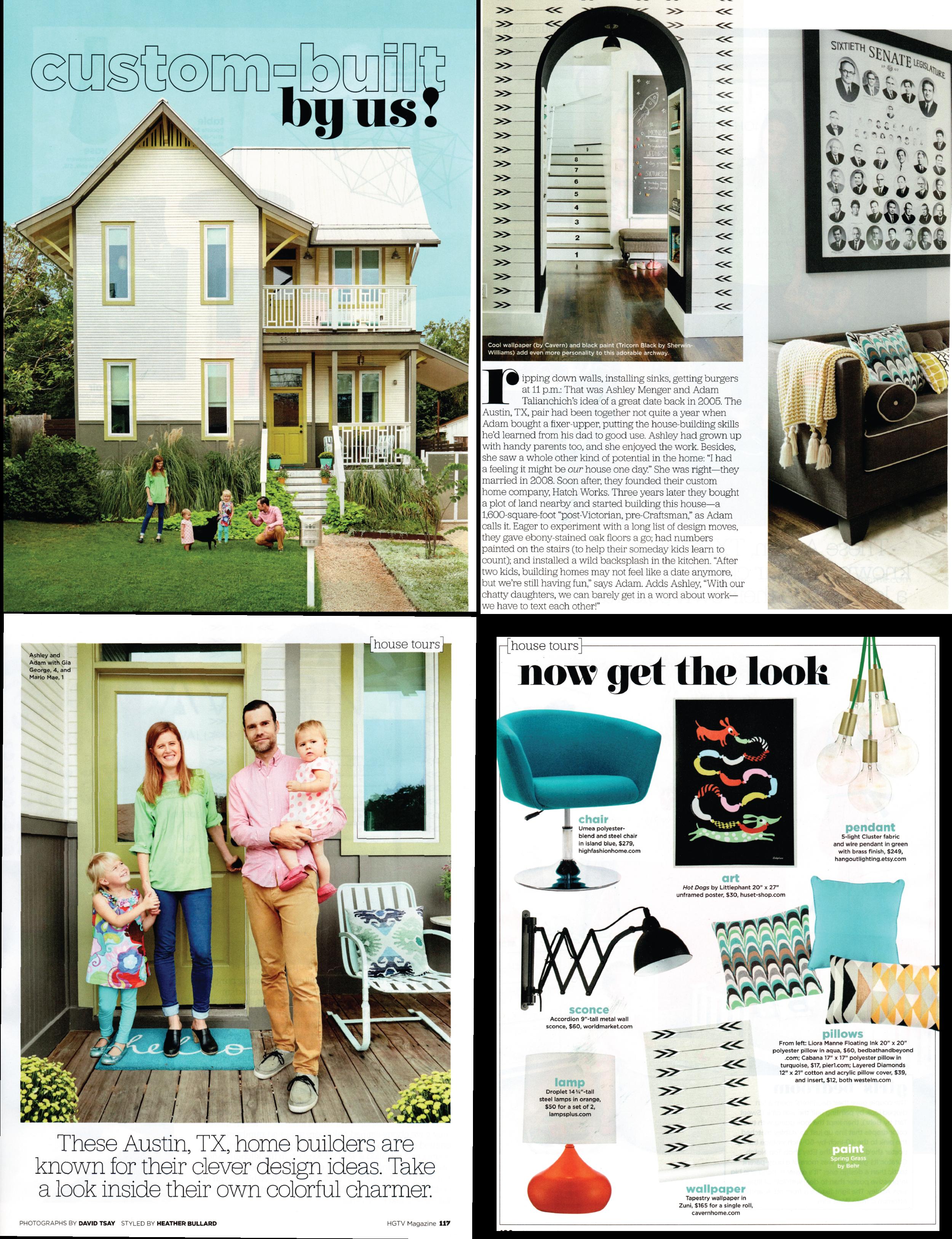 HGTV Magazine — Cavern Home