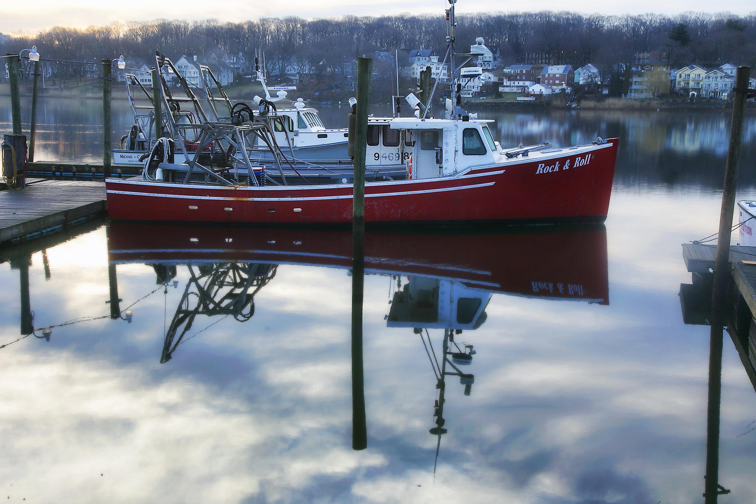 Lobster Boat on the Quinnipiac — Chris ...