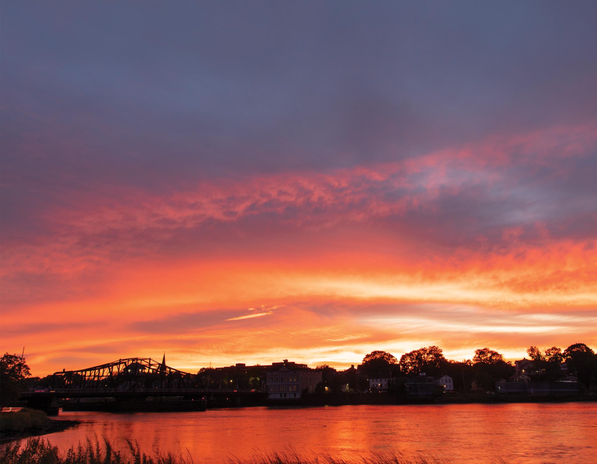 September: Quinnipiac River