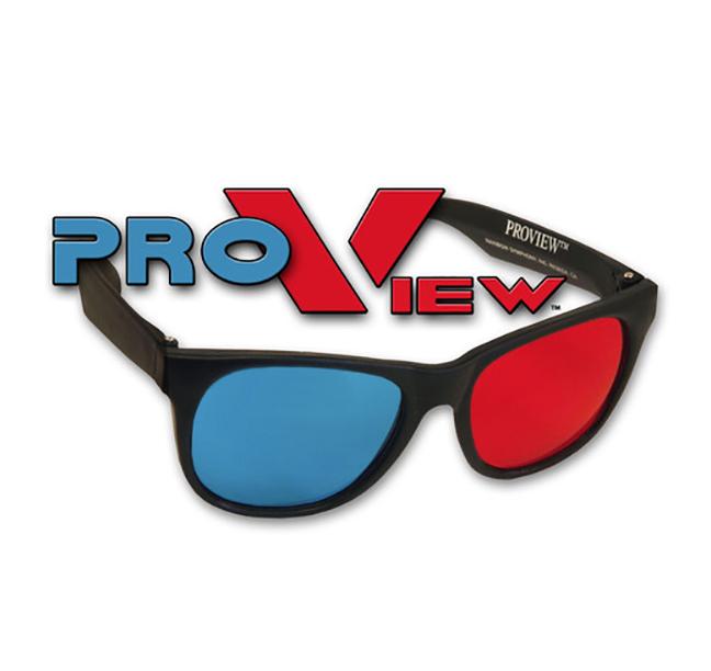 Plastic ProView 3D Glasses   Shop Here