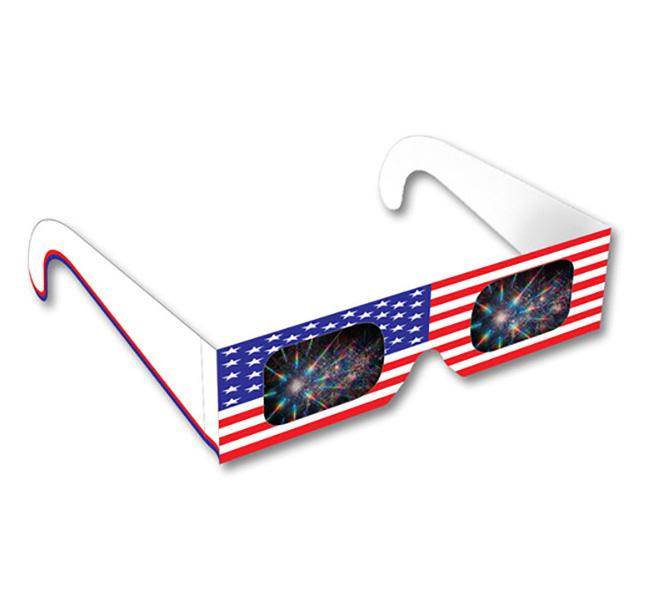 American Flag - Fireworks Glasses® -1     Shop Here