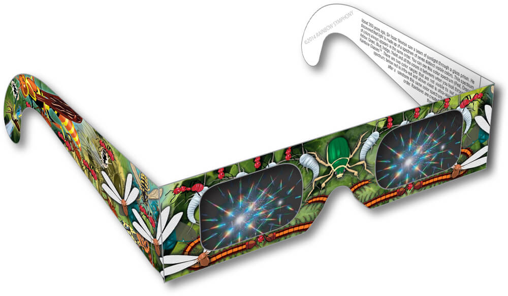 Insect Rainbow Glasses     Shop Here