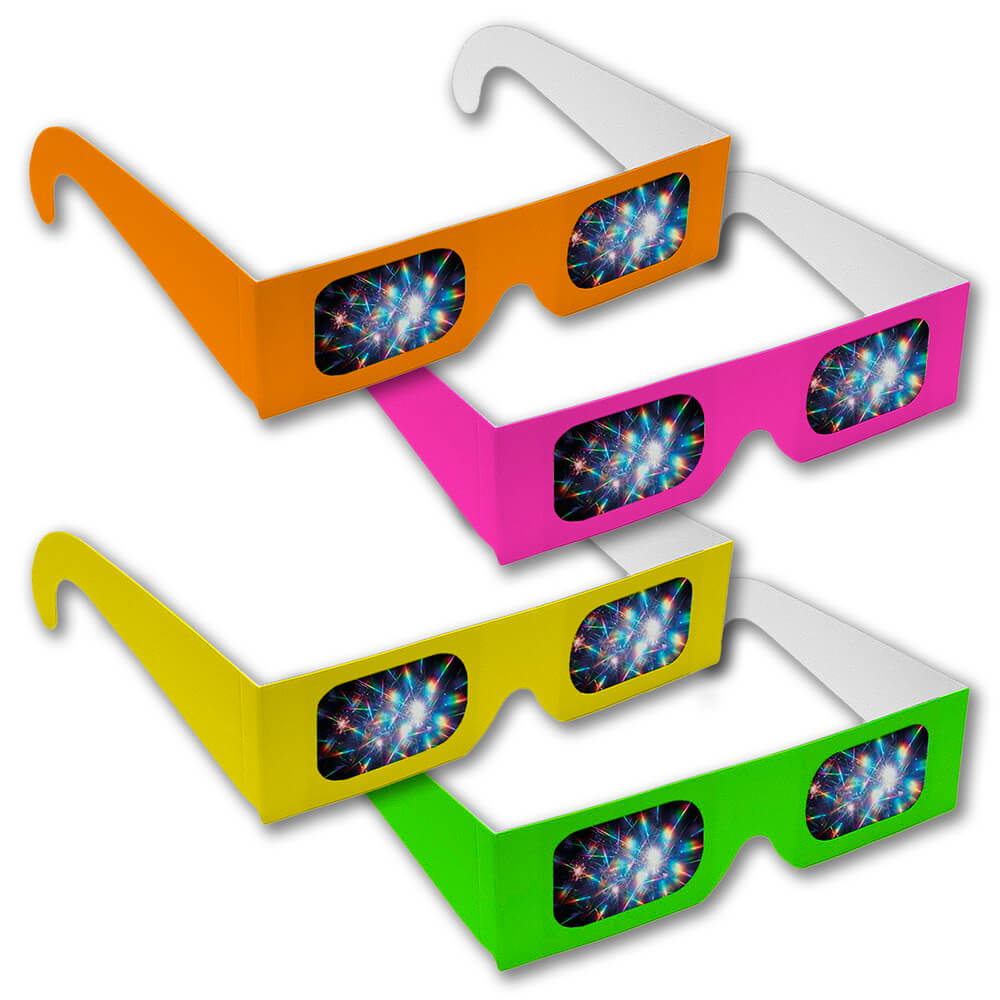 Assorted Neon Fireworks Glasses     Shop Here