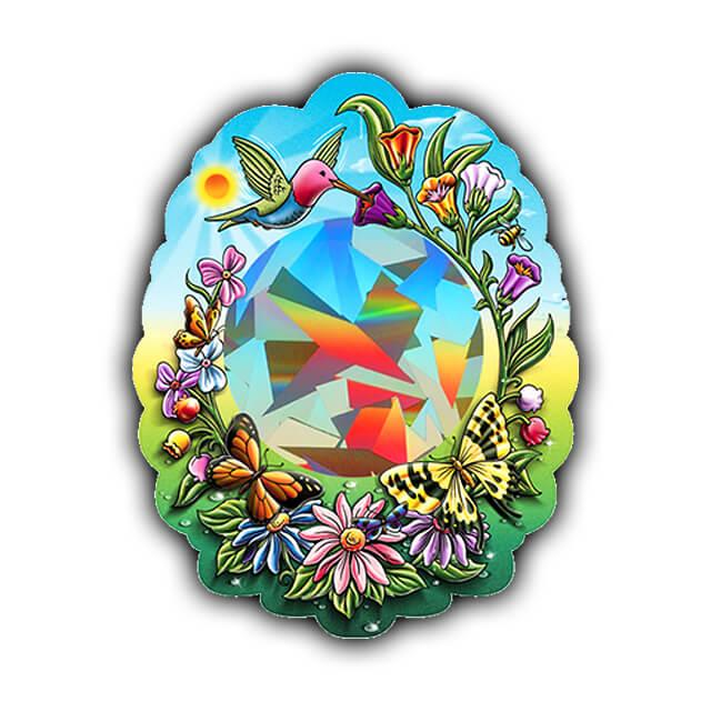 Rainbow Hummingbird Sun Catcher   Shop Here
