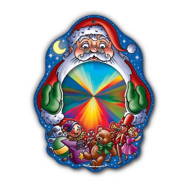 Rainbow Santa Sun Catcher   Shop Here