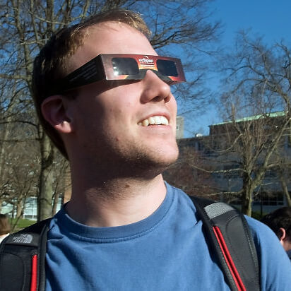 The correct way to safely observe the sun!!