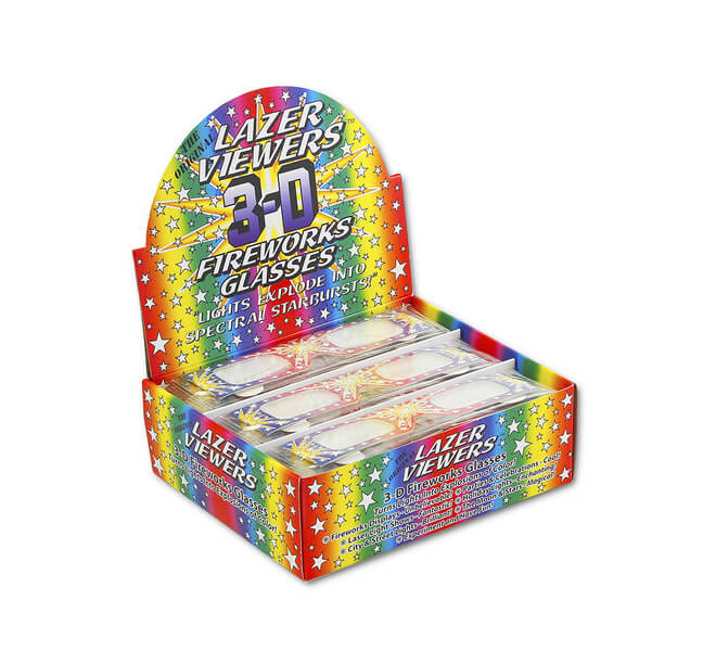 50   Pair   Lazer Viewers Retail Box Display     Shop Here