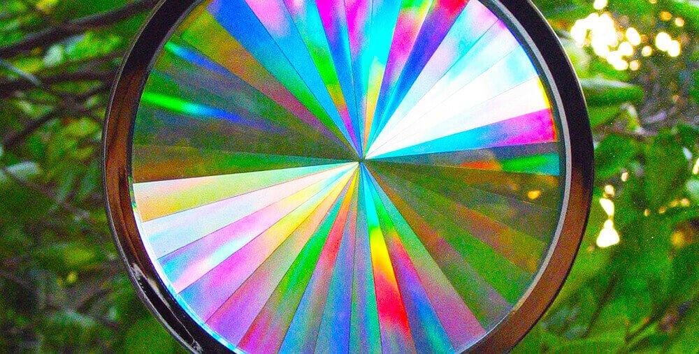 Axicon Rainbow Window Suncatchers