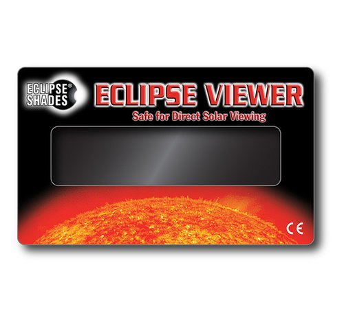 "Solar Eclipse Viewer - Safe for Direct Solar Viewing - 3"" X 5"" 07121    Shop Here"