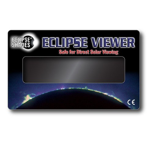 "Solar Eclipse Viewer - Safe for Direct Solar Viewing - 3"" X 5""   07112  Shop Here"