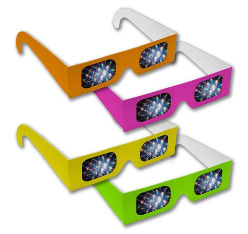 Neon Diffraction Glasses  Shop Here