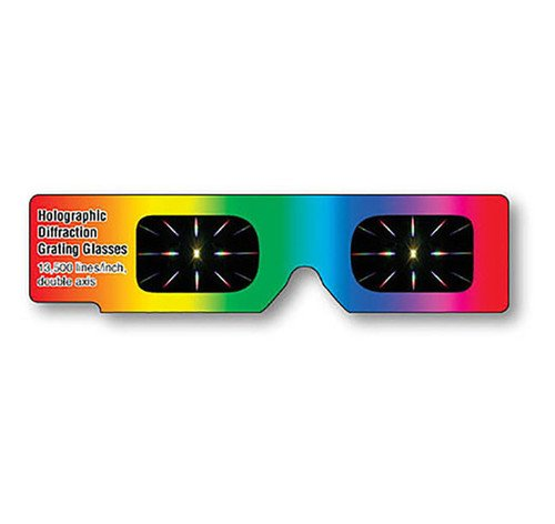 Hand Held Diffraction Grating Glasses   Shop Here