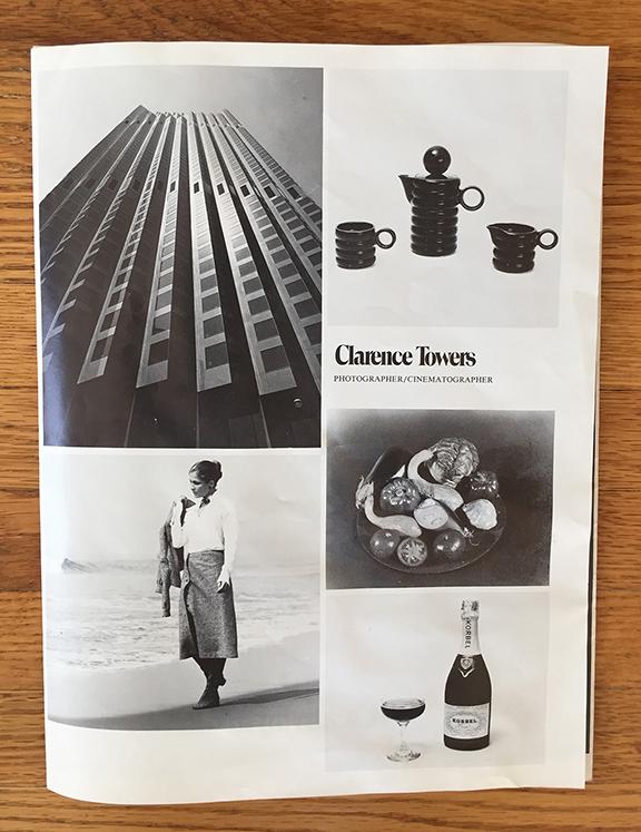 Clarence Towers  Freelance Photographer & Cinematorgrapher