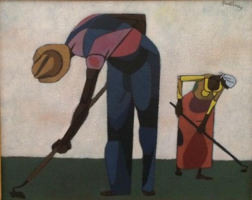 Workers in the Field - Gwathmey