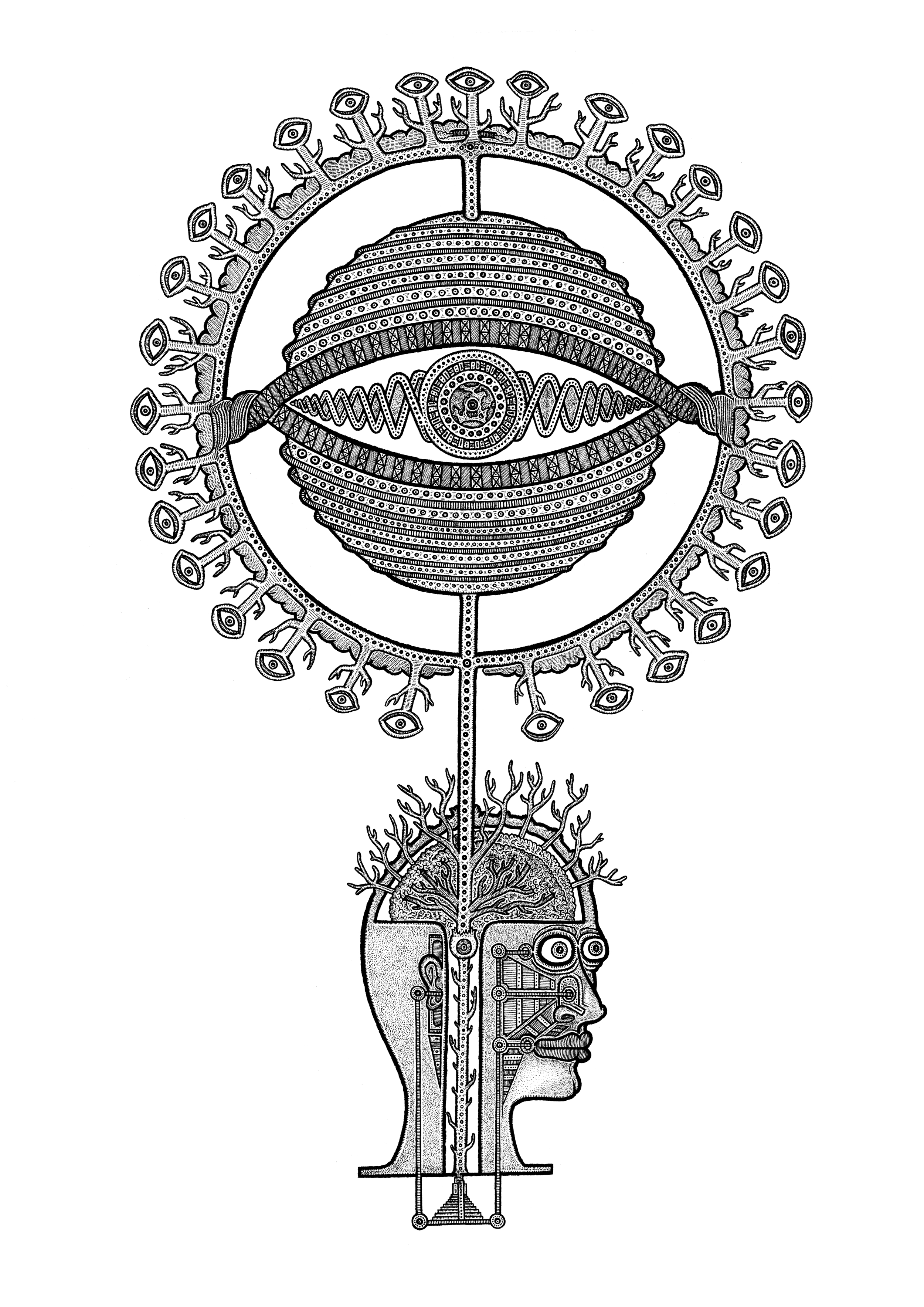 'THE PINEAL PARADISE'