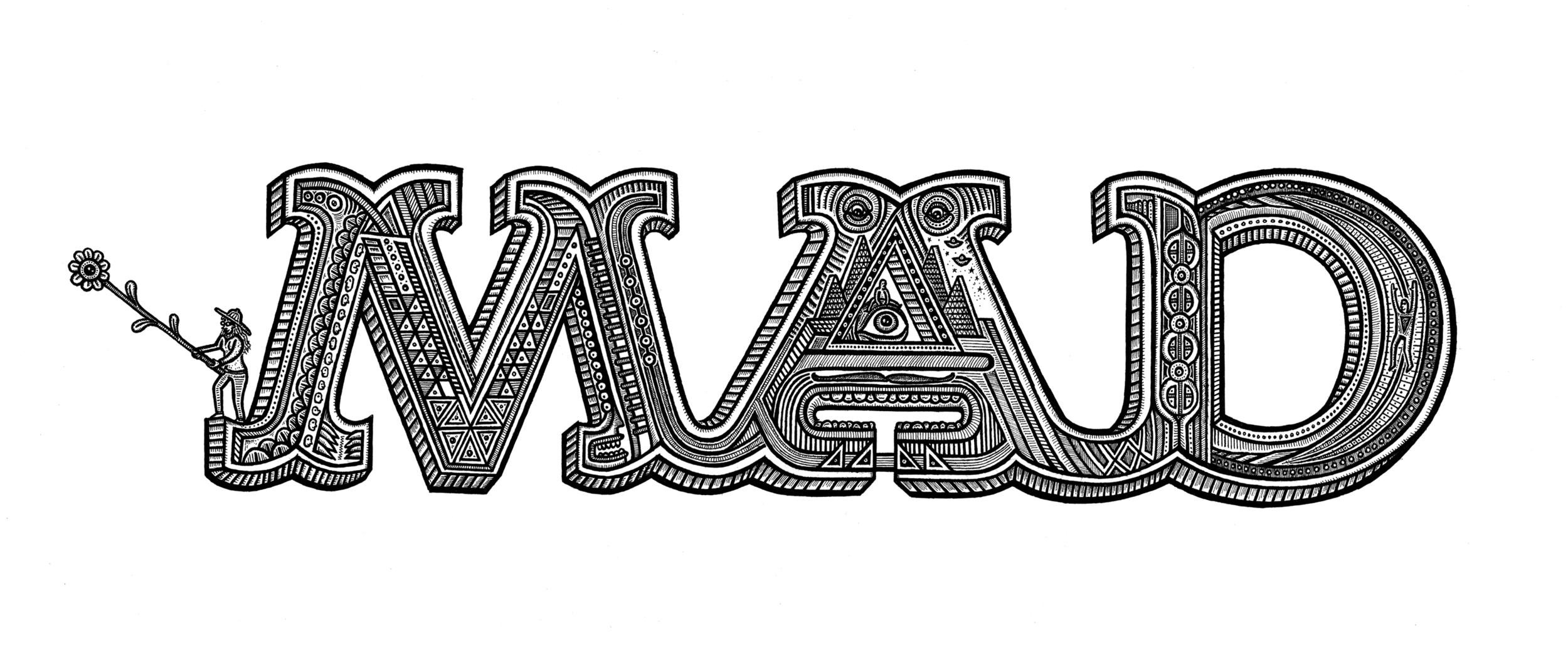 'The M.A.D Logo'