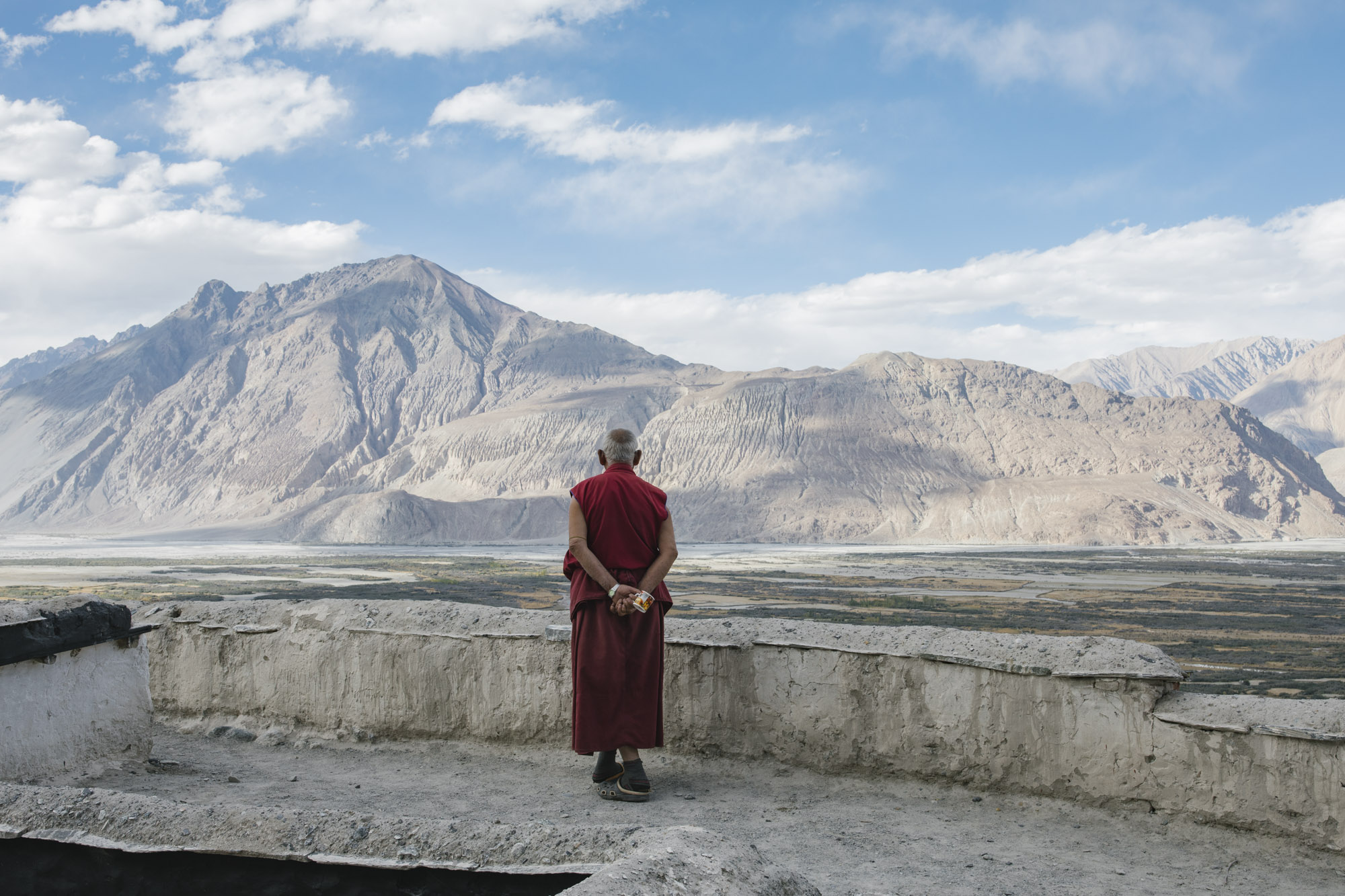 Looking to Tibet, Diskit Monastery