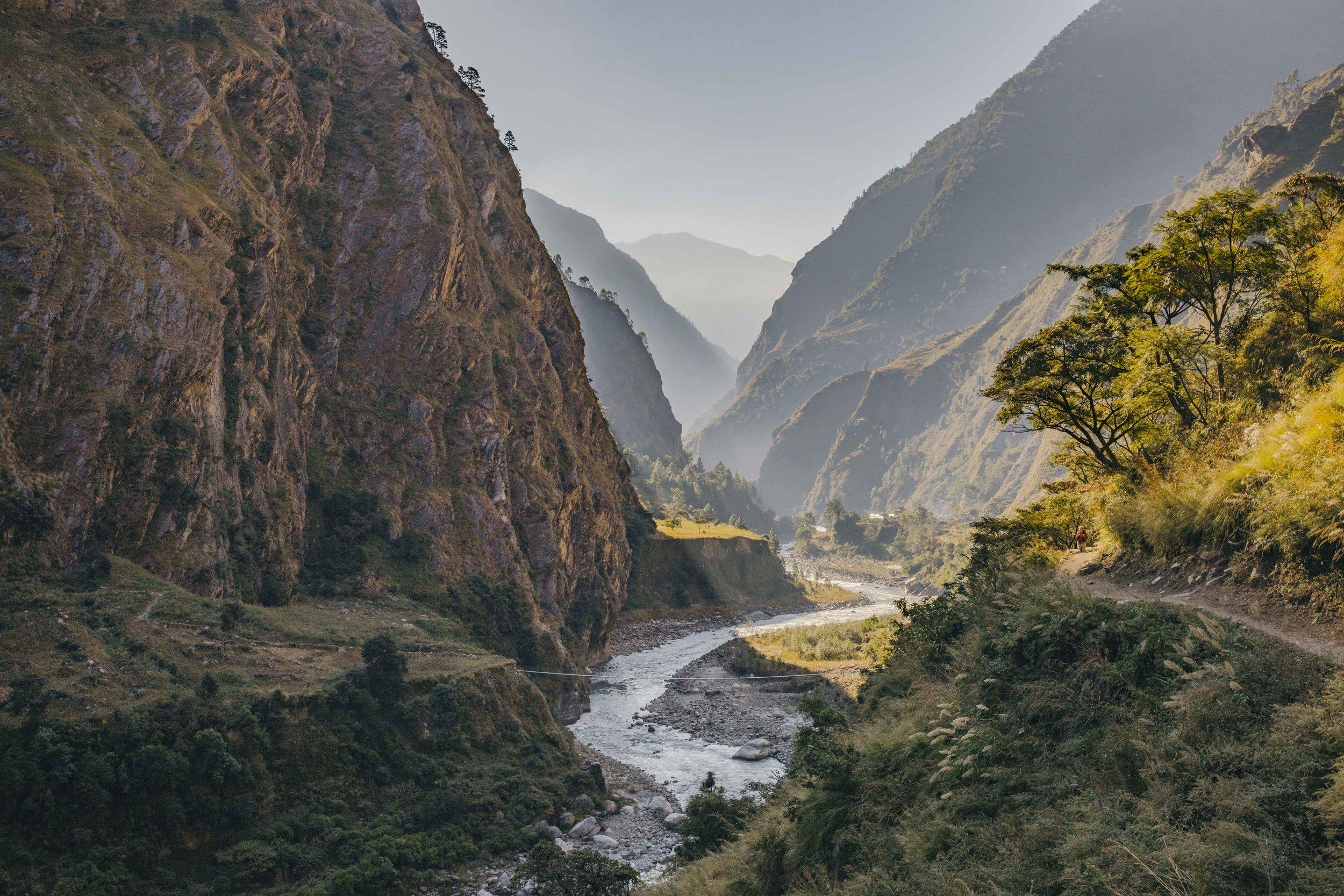 Cutting through the valley Manaslu (1 of 1).jpg