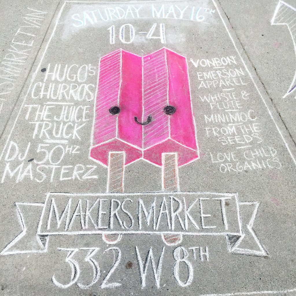 From the Makers Market Event held this past weekend