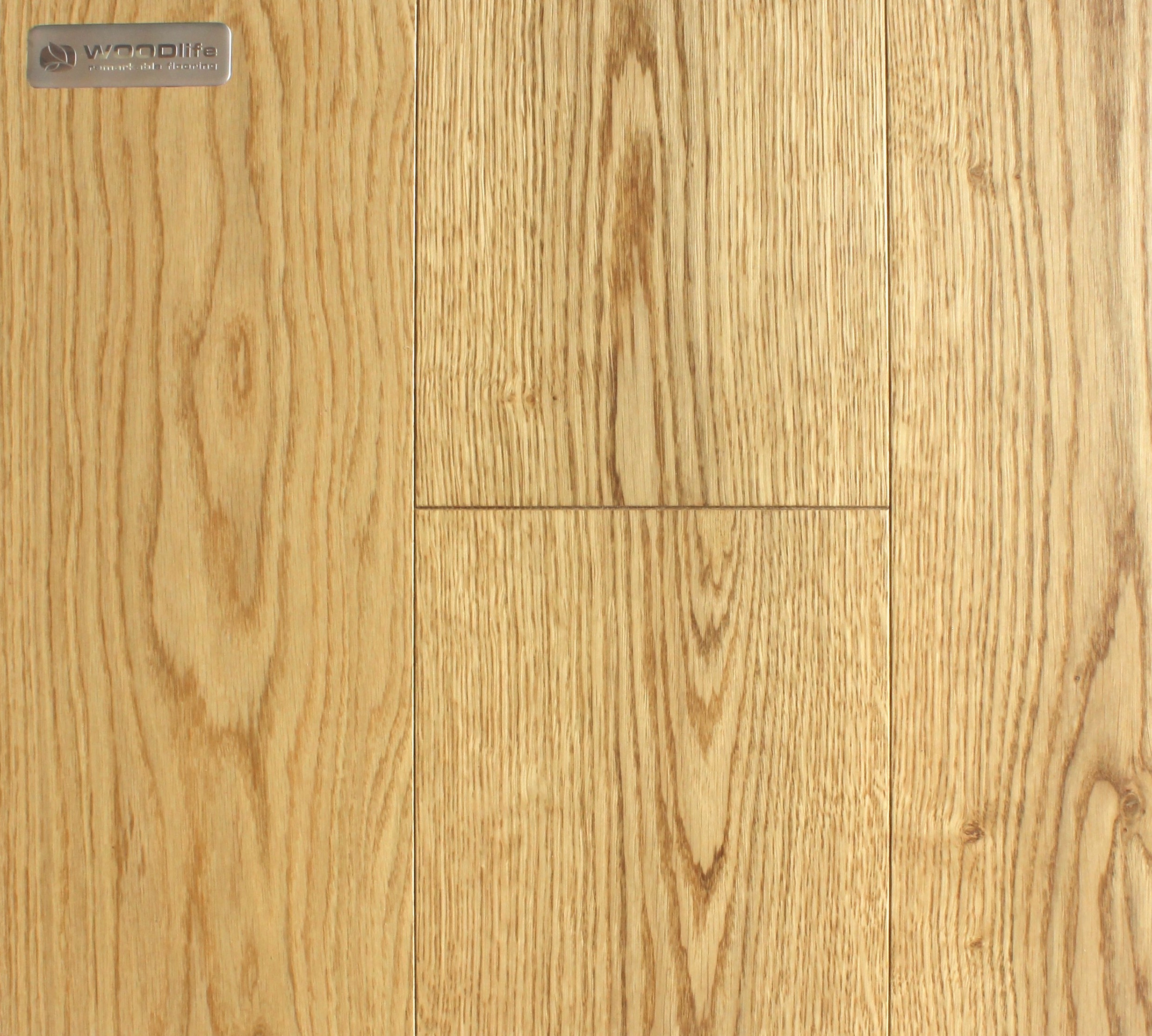 CLEAR LACQUERED - WHITE OAK