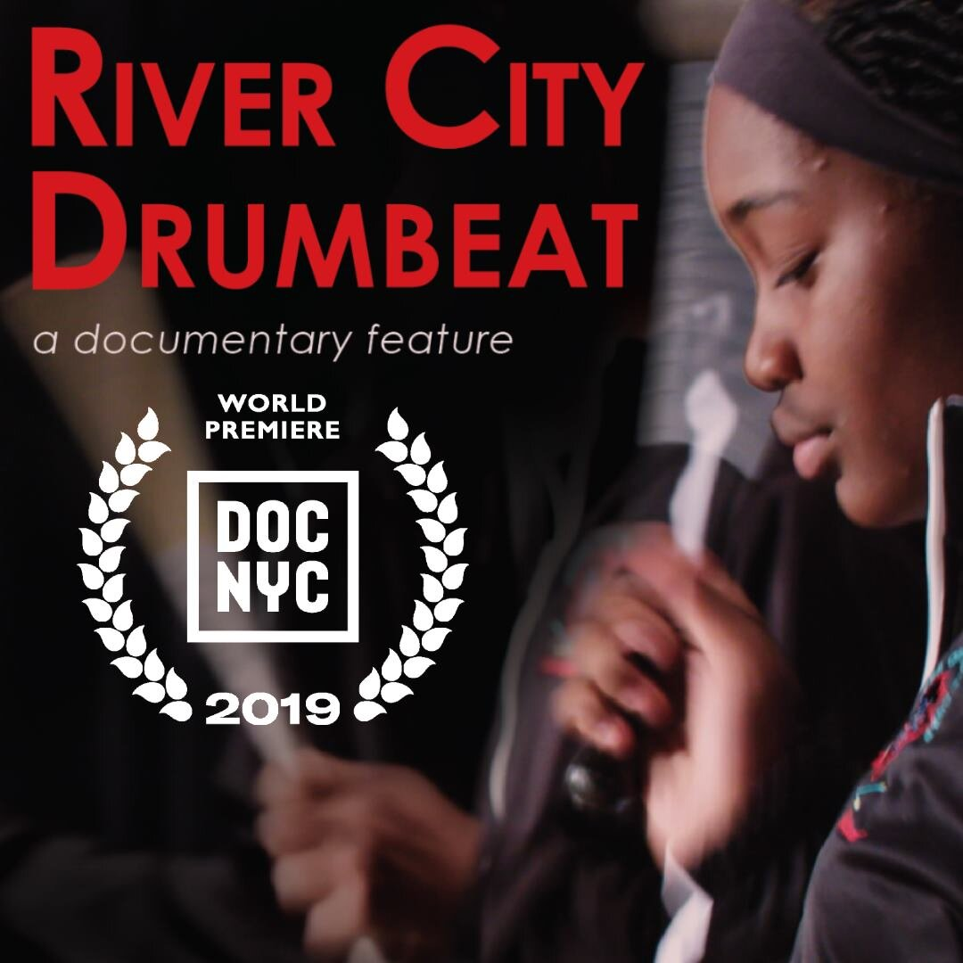 We are very excited to share that River City Drumbeat, the new feature documentary directed by Marlon Johnson and Anne Flatté, produced by Owsley Brown Presents, will premiere at DOC NYC Film Festival in on November 12th! It has been a remarkable journey getting to know the creative community of parents, mentors, and youths that makes up the Louisville River City Drum Corp. We are thrilled to share this timely, multi-generational story of music, love, and legacies with the world. You can find more info and tickets at http://bit.ly/rivercitydrumbeat -