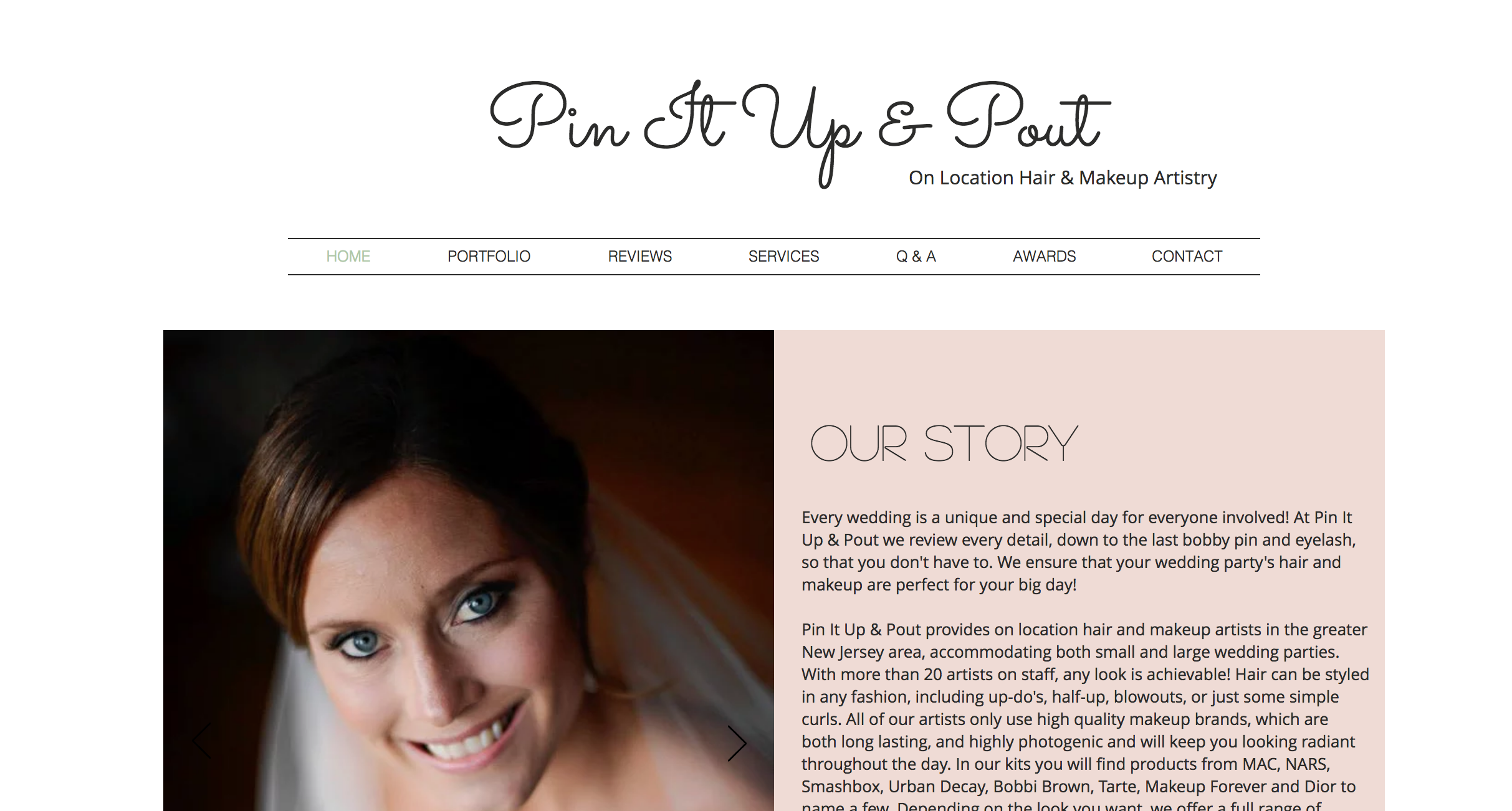 Pin It Up& Pout - WEDDING HAIR & MAKEUP