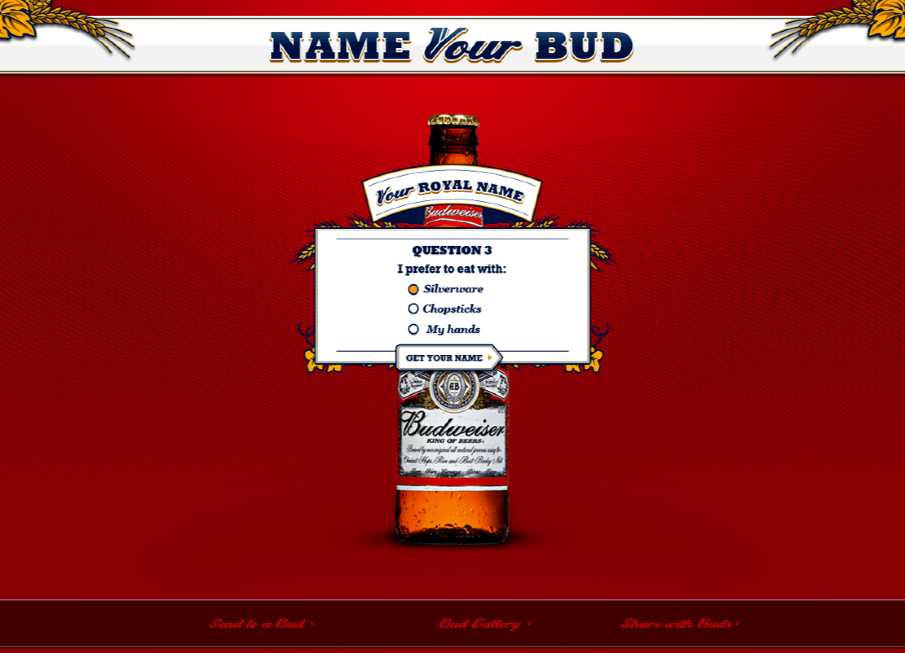 If you needed some help we had a nifty name generator based on your preferences.
