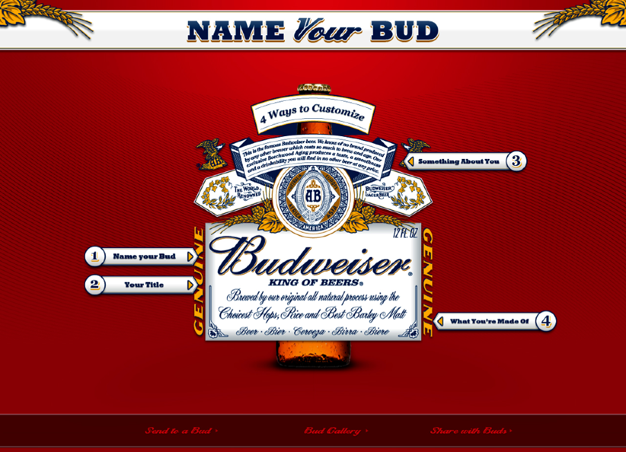 Know what you want to name it? Type it right on the label.