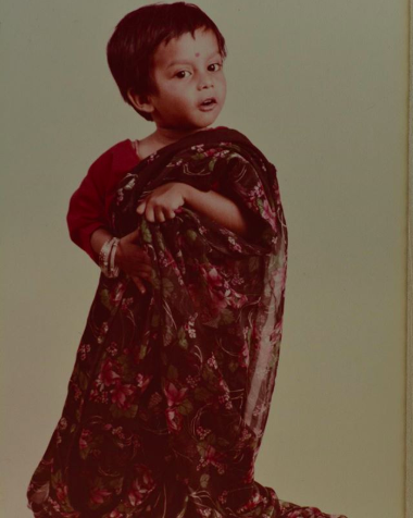 Nik as a child (Instagram)