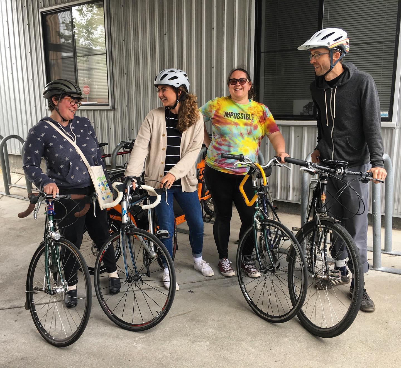 The Bread SRSLY Bike Gang.