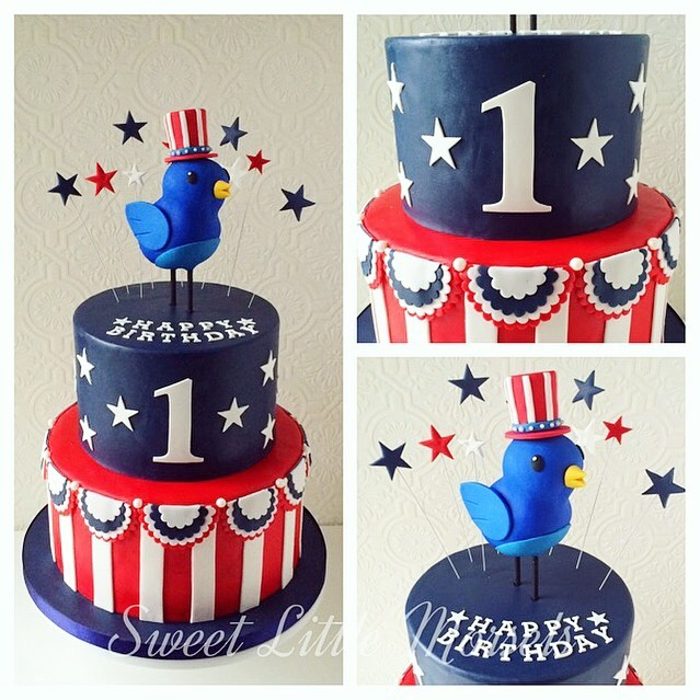 One of my favorite July 4th cakes from a few years back! Hope all of you are enjoying this day with family and friends! Happy 4th! 🎉 #happy4thofjuly #tbt . . . . . . . . #cake #fondantcakes #cakeartist #cakestagram #redwhiteandblue #stars #birthdaycake #starsandstripes #america #memories