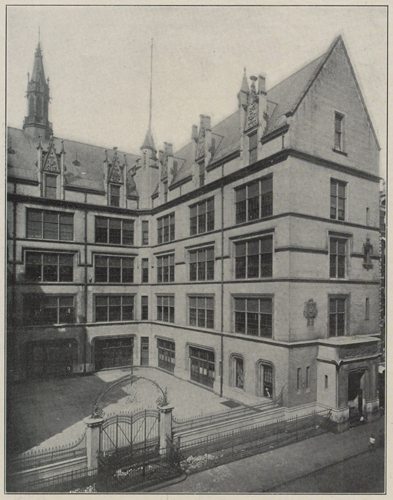 Archival photo of PS 109, originally designed by C.B.J. Snyder, completed 1898. Courtesy HHL Architects