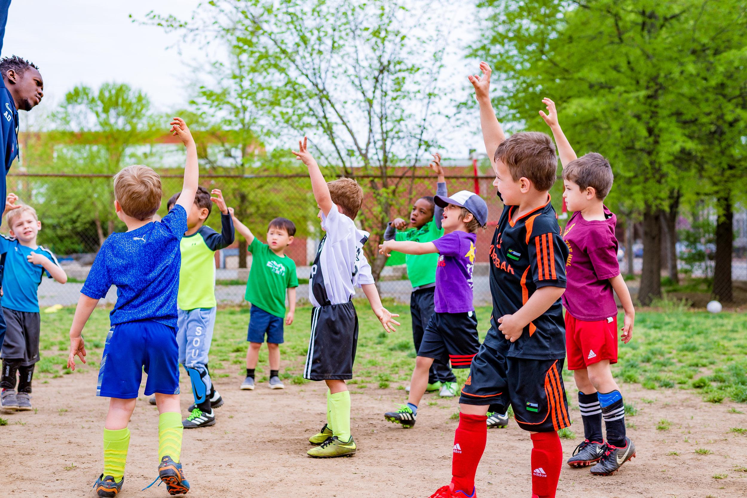 DC Way's 2019 Spring Break Soccer Camp