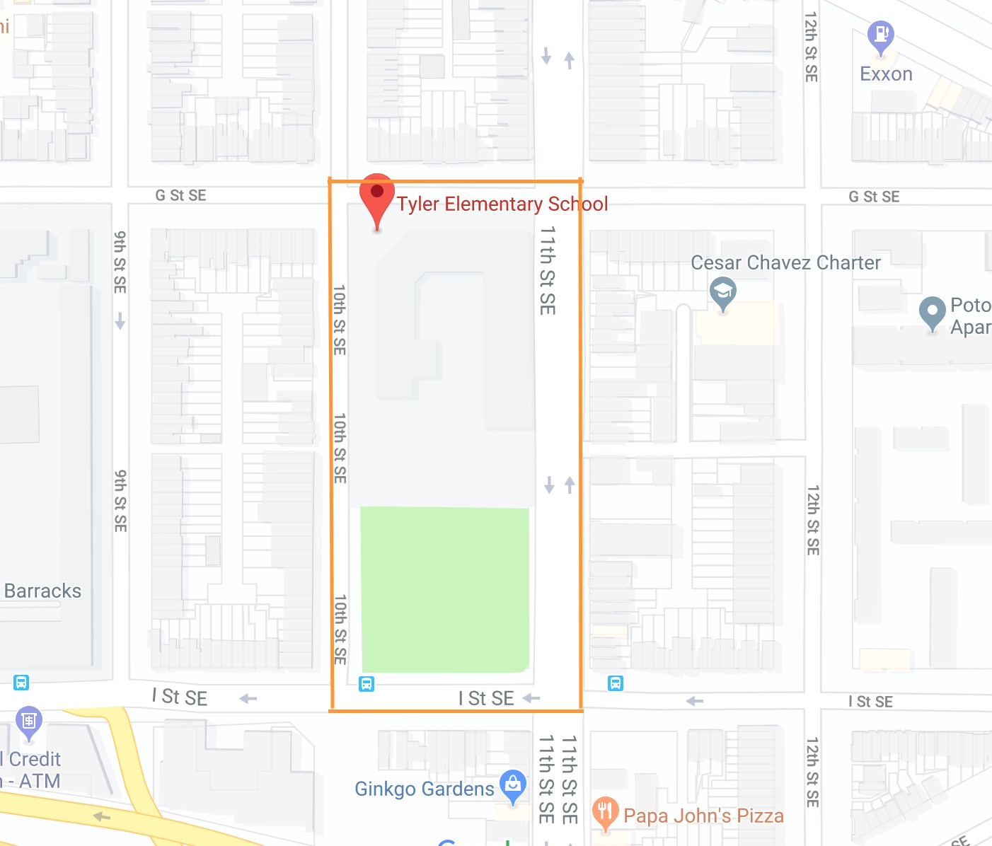 DC Way is adopting the following four blocks surrounding Tyler Elementary School: - 1. 1000 block of G St SE2. 1000 block of I St SE3. 700 block of 10th St SE4. 700 block of 11th St SEStarting Meeting Location will be at the address below: