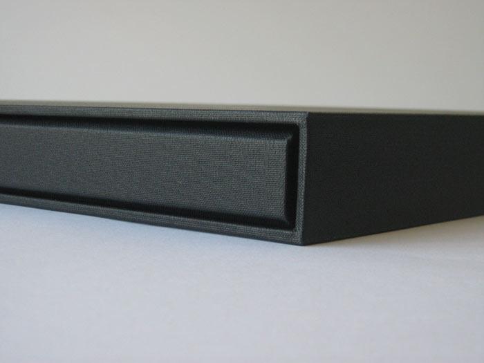 Post bound folder in slipcase