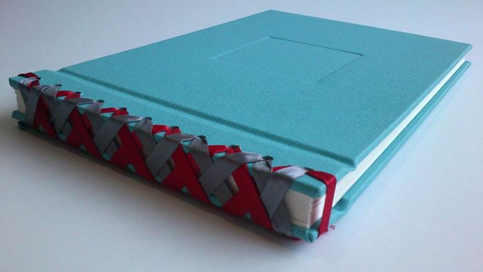 Japanese ribbon binding