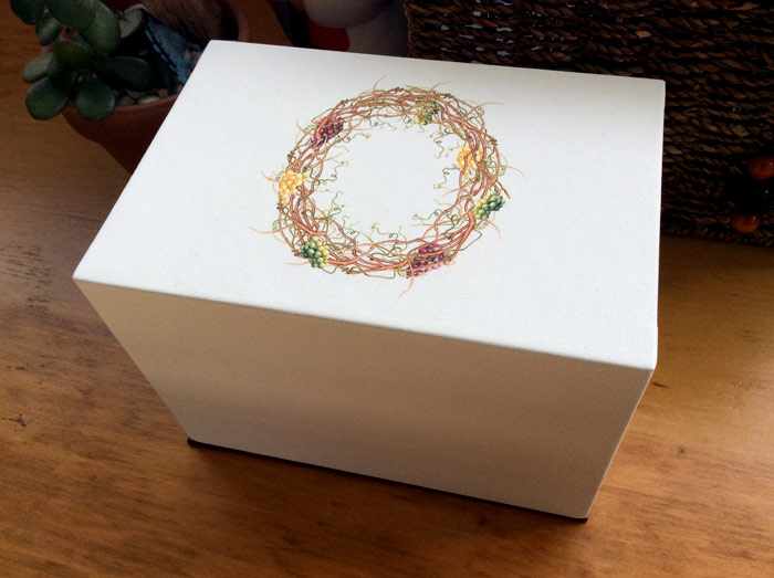 Sherry glass box