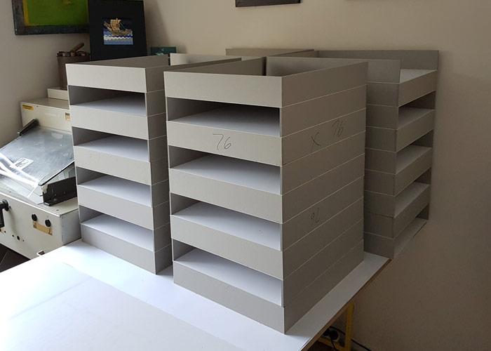 Box trays