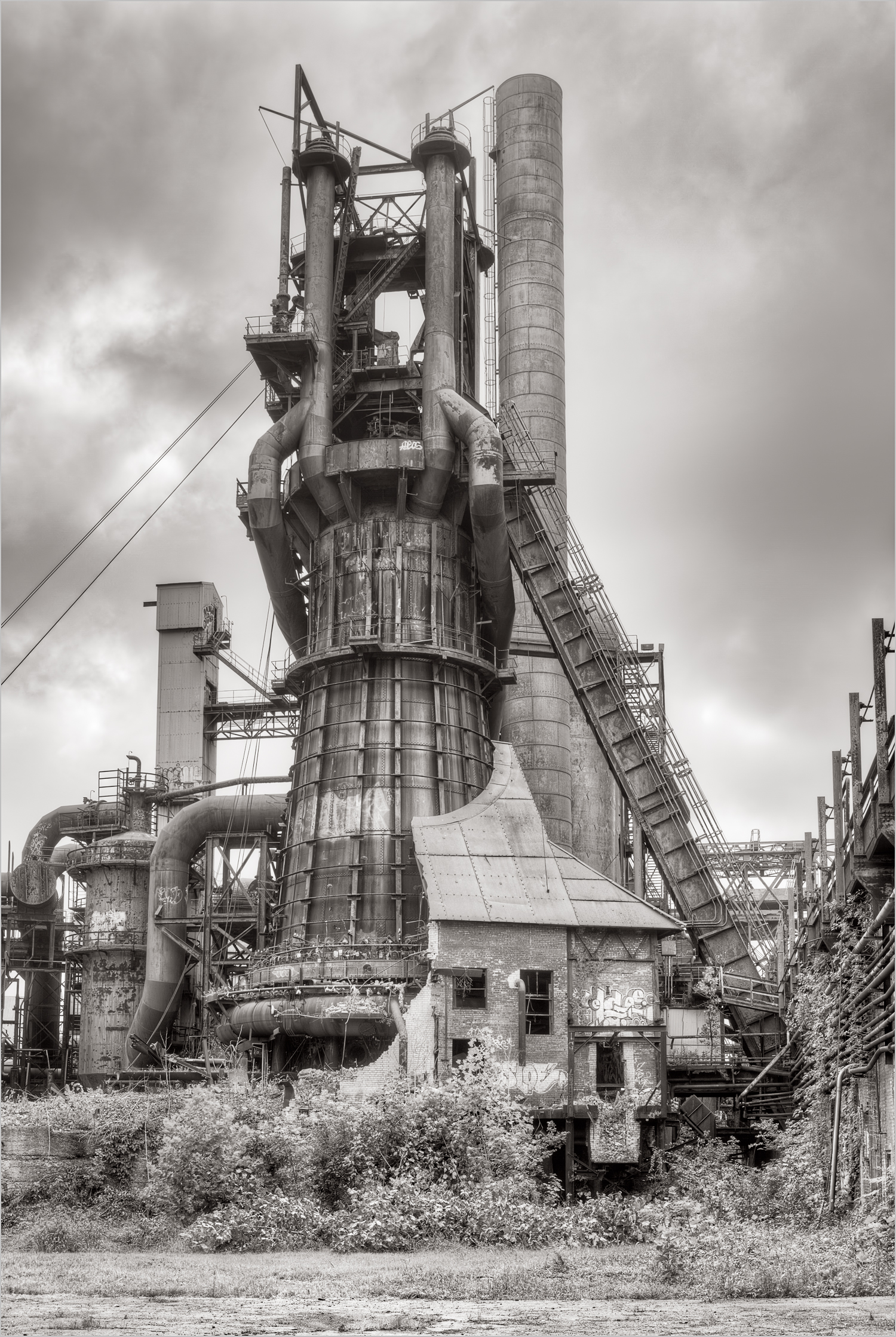 The Carrie Furnace, Rankin, Pennsylvania