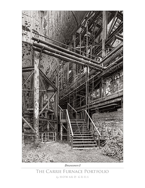 Sample image from The Carrie Furnace Folio.