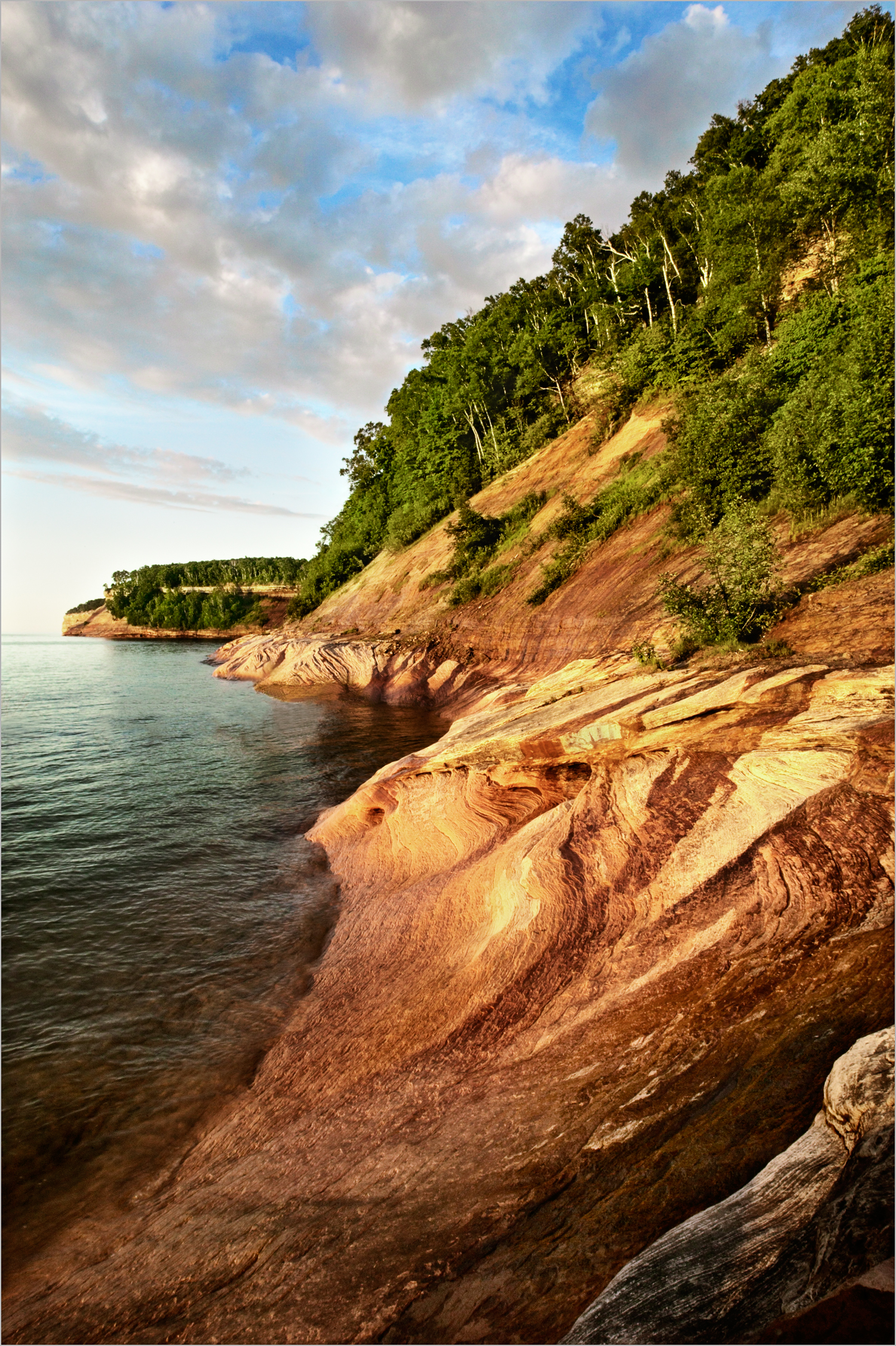 Pictured Rocks National Lakeshore in Michigan's Upper Peninsula.